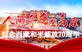 紀念西藏和平解放70周年