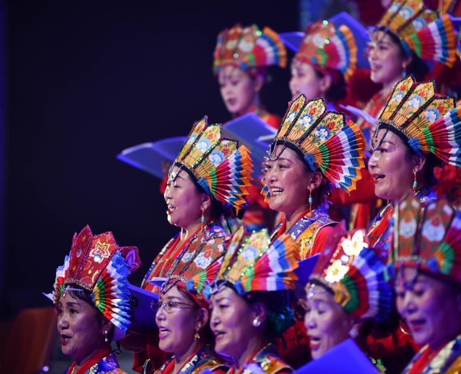 西藏自治區藏劇團舉行60歲生日藏戲音樂會(圖)
