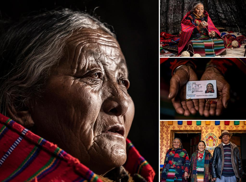 苦難和新生——西藏翻身農奴影像檔案